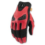 Icon Automag2 Gloves Red